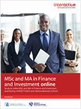 Dual MSc & MA in Finance and Investment