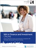 MA in Finance and Investment