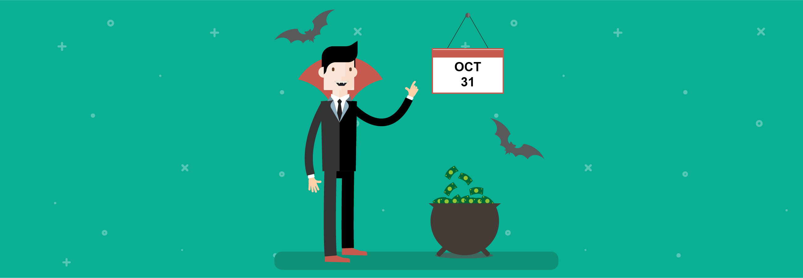 Why October spooks investors